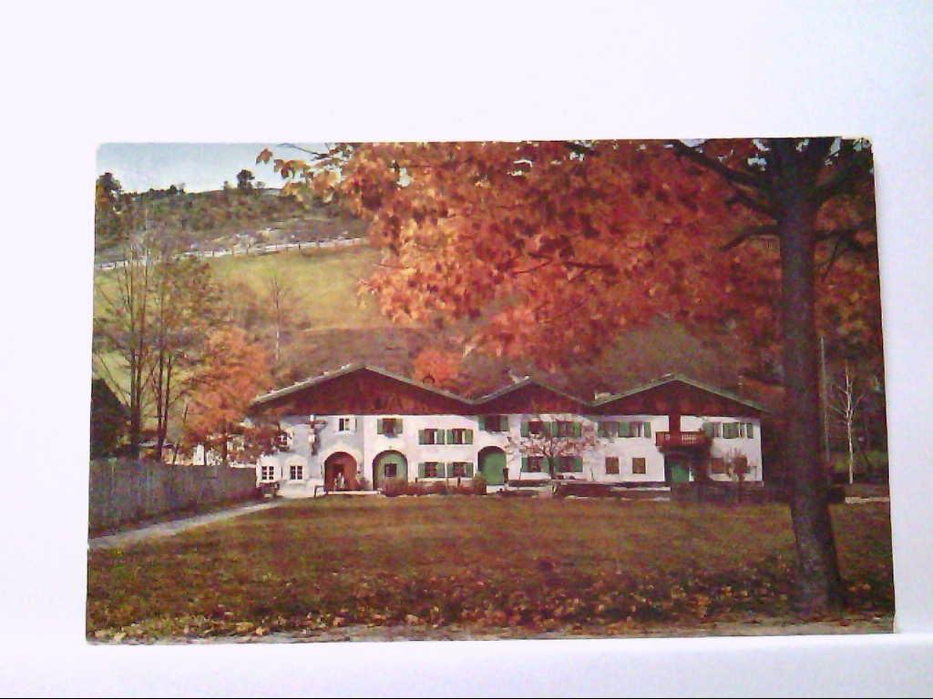 AK Mittenwald in Bayern, Bauernhäuser, Verschönerungsverein Mittenwald.
