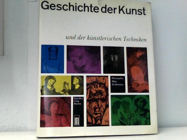Geschichte der Kunst und der künstlerischen Techniken.