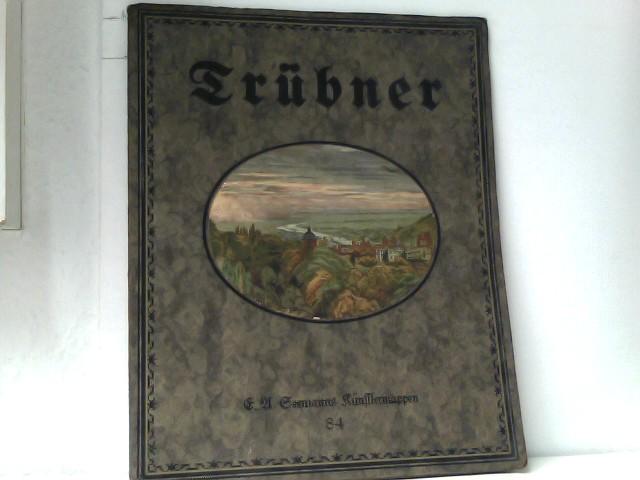 Seemanns Künstlemappen Nr. 84 Wilhelm TrübnerGiovanni Bellini (acht farbige Wiedergaben bedeutender Gemälde)