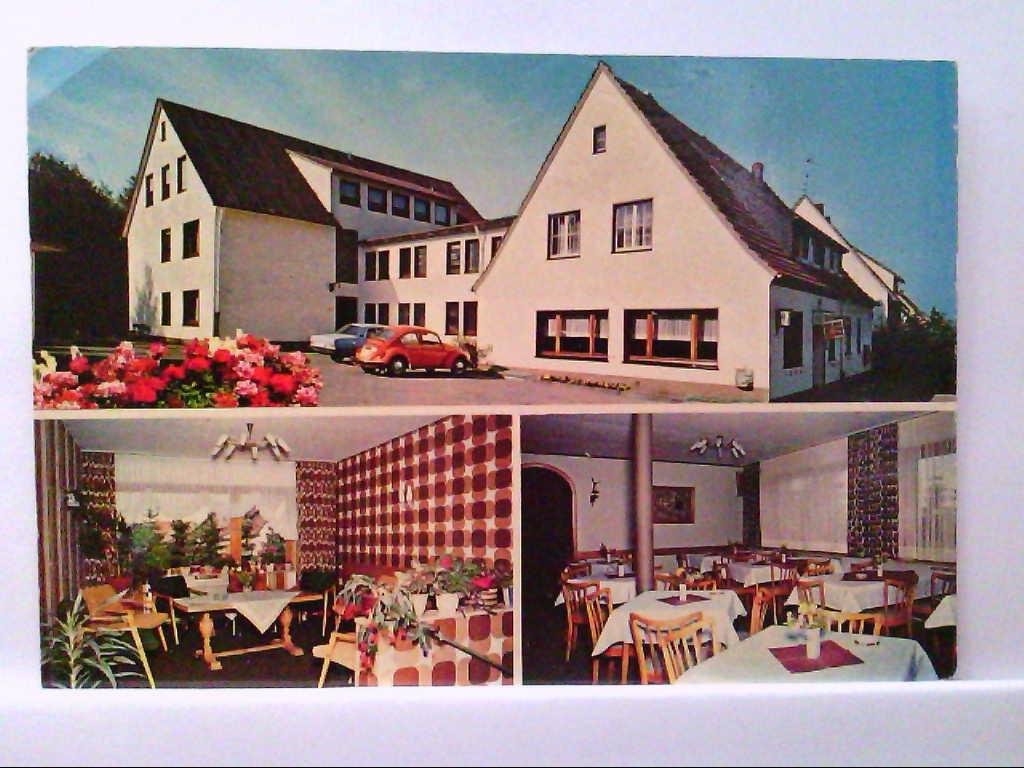 AK Bleiwäsche, Waldhaus Fischer, Mehrbildkarte, 3 Abb.