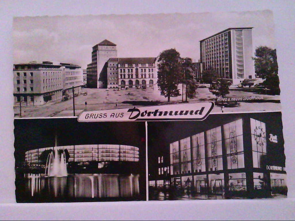 AK Dortmund, Gruss aus Dortmund, Mehrbildkarte mit 3 Abb.