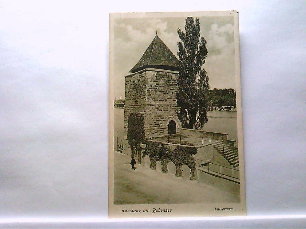 AK Konstanz am Bodensee, Pulverturm, Gebäudeansicht.