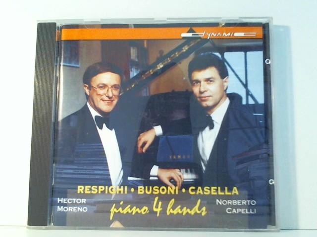 Klaviermusik zu vier Händen von Respighi, Busoni und Casella