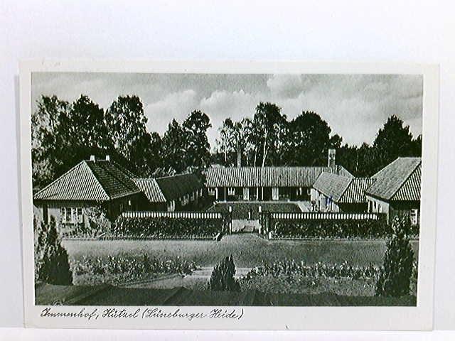 AK Immenhof, Hützel; Lüneburger Heide; gelaufen 1960