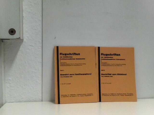 Bewahrt eure Familienpapiere! Flugschriften der Ostfälischen Familienkundlichen Kommission, Heft 1 und Heft 2.