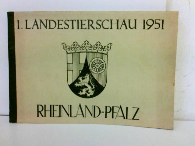 I. Landestierschau 1951 - Rheinland-Pfalz