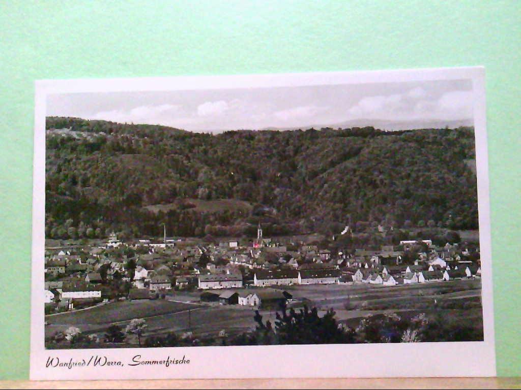 AK Wanfried / Werra, Sommerfrische, Panoramaansicht.