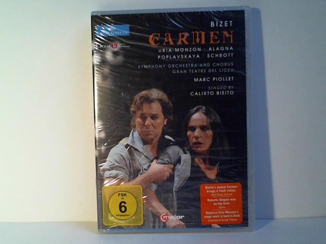Beatrice, Uria-Monzon: Georges Bizet: Carmen [2 DVDs]