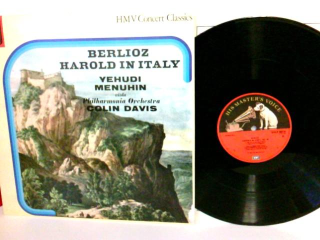 The Wayward Wind  Berlioz Harold In Italy Yehudi Menuhin Viola Philharmonia Orchestra Colin Davis