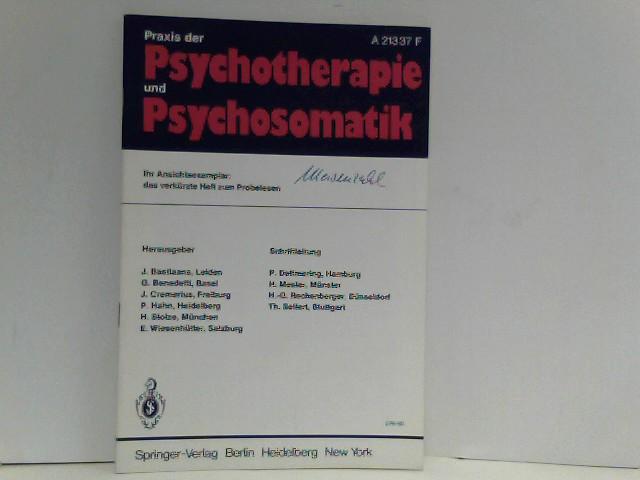 Praxis der Psychotherapie und Psychosomatik - Ihr Ansichtsexemplar: Das verkürzte  Heft zum Probelesen