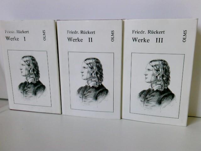 Rückert, Friedrich: Werke. Auswahl in acht Teilen, pro Buch mehrere Teile enthalten. Nachdruck der Ausgabe Berlin 1910