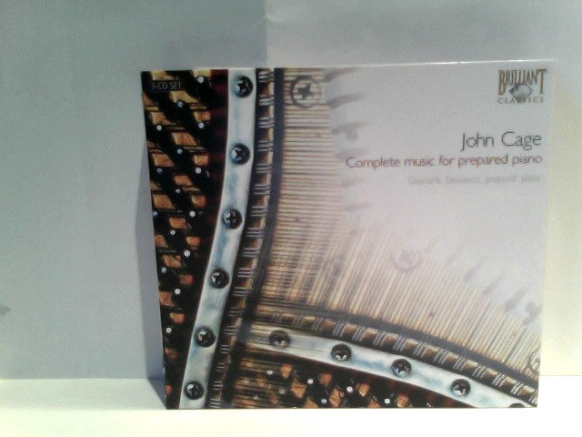 John Cage: Complete Prepared Piano by Imports (2006-10-26)