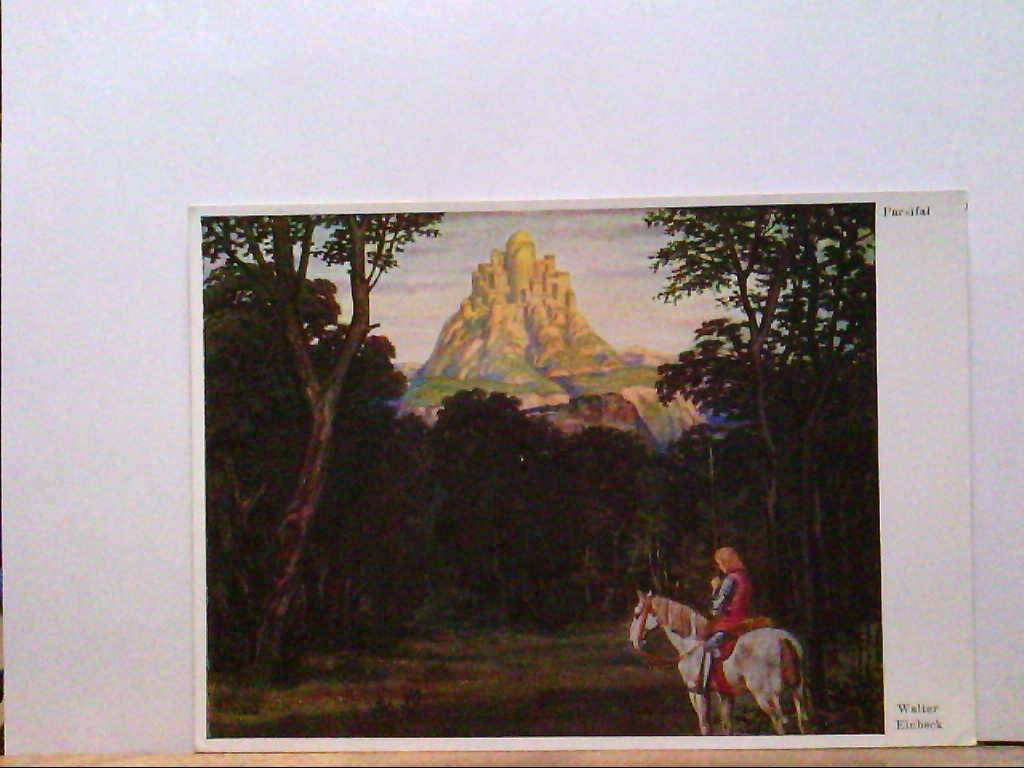 AK Künstlerkarte, Walter Einbeck, Parsifal.