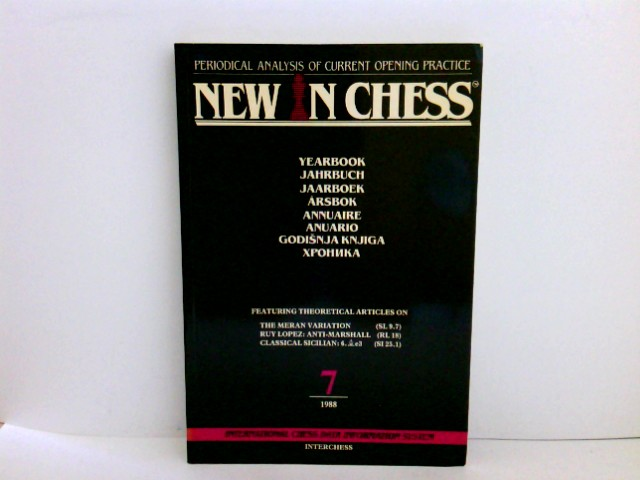 New in Chess Yearbook (International Chess Data System Vol 7)