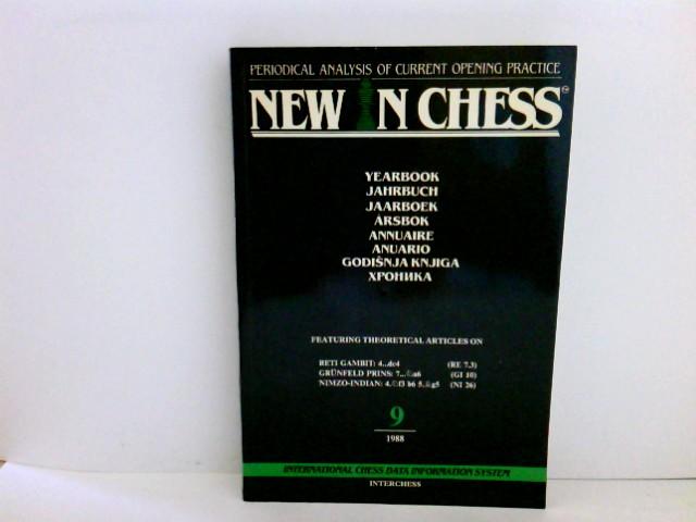 SOSONKO, Gena and VAN DER STERREN Paul (eds):: New In Chess Yearbook 9 Auflage: Auflage: 1st ed