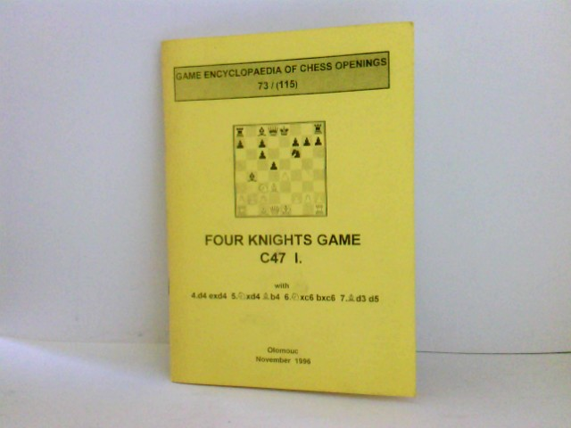 Game Encyclopaedia of Chess Openings 73 / (115) Four Knights Game C47 I