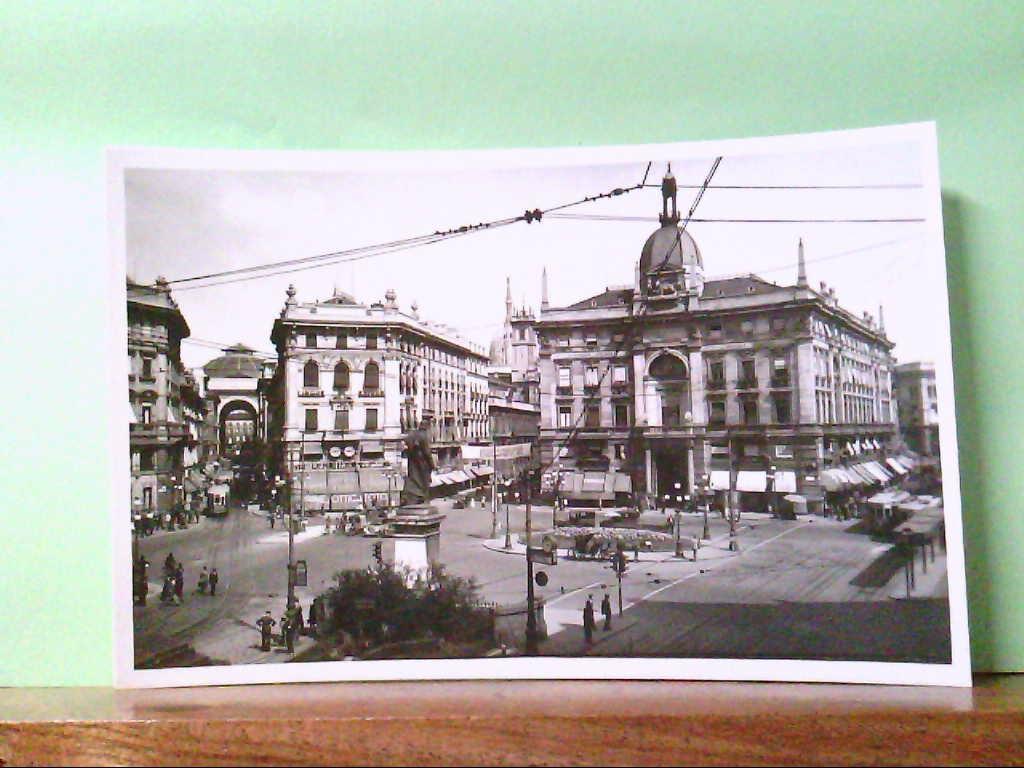 AK Milano / Italien, Piazza Constanzo Ciano gia Largo Cordusio.