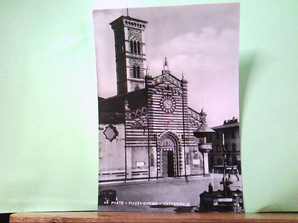 AK Prato / Italien, Piazza duomo - Cattedrale, Gebäudeansicht.