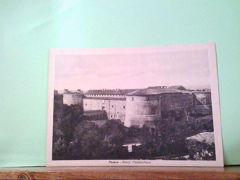 AK Pesaro / Italien, Rocca Malatestiana, Gebäudeansicht.