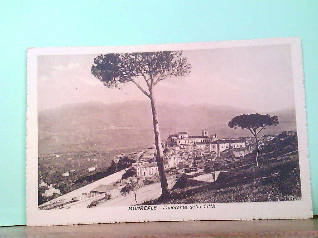 AK Monreale / Italien, Panorama della Citta, Panoramaansicht.