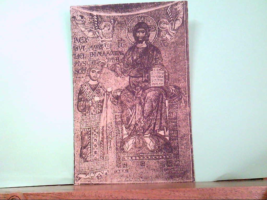 AK Monreale / Italien, Coronazione di Gualielmo Il Normano ( Mosaici sec. XII  ).