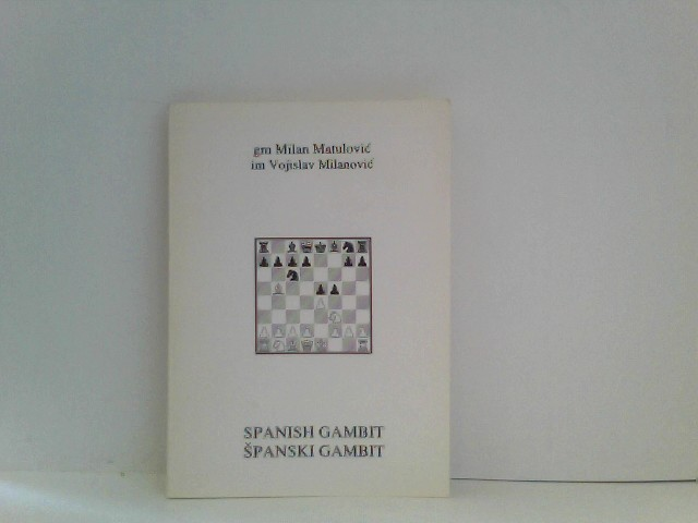 Spanish Gambit. Spanski Gambit. C63.