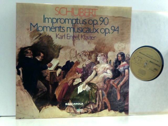 Schubert, Franz: Schubert -  Karl Engel, Klavier – Impromptus Op.90 / Moments Musicaux Op.94