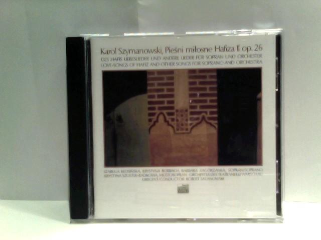 Des Hafis Liebeslieder und andere Lieder für Sopran und Orchester / op. 26