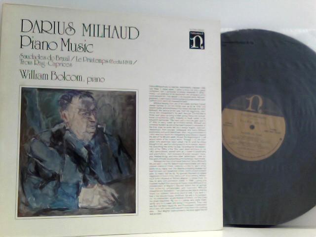 Darius Milhaud -  William Bolcom – Piano Music