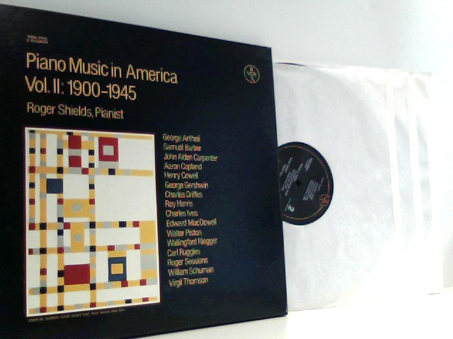 Roger Shields – Piano Music In America Vol. II: 1900-1945
