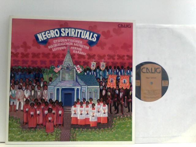 Various: Negro Spirituals - Der Studentische Madrigalchor Münster unter der Leitung von Herma Kramm