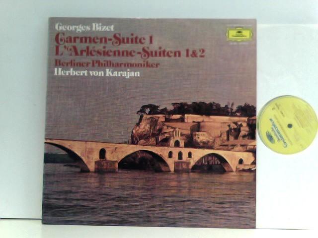Bizet, Georges und Herbert von Karajan: Georges Bizet - Berliner Philharmoniker,  Herbert von Karajan – Carmen-Suite 1 • L'Arlésienne - Suiten 1 & 2