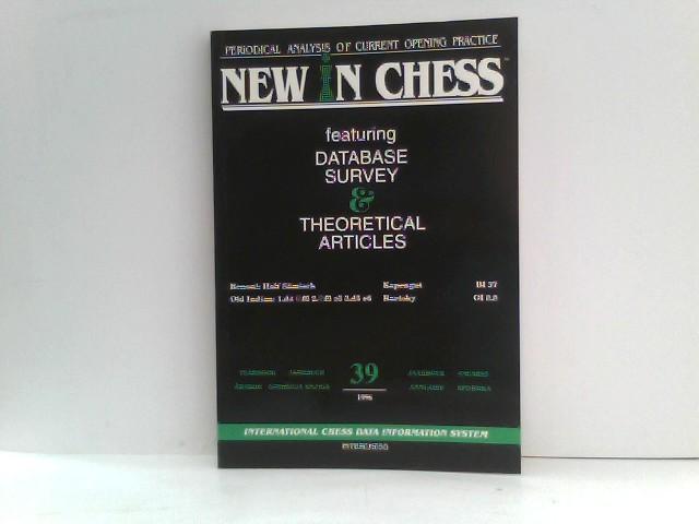 Sosonko, Genna and Paul van der Sterren: New in Chess Yearbook 39 1996. International Chess Data Information System.