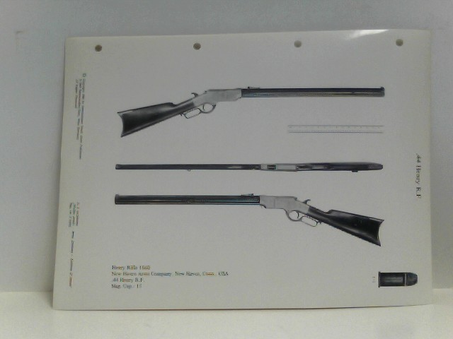 "Waffen Archiv,  Arms Archives,  Archives d´Armes,  C  : 44 Henry R.F., 44 Henry R.F. Experimental Copy, 44 Henry R.F. Winchester 1866 Rifle, 44-40 Winchester, 8,15 x 46 R, 7,5 mm Schmidt-Rubin, 10,4 mm Vetterli R.F., 7,65mm Mauser, 7,62 mm russ. Moissin, 11 mm Gras Mle. 1874, 6,5 x 55 Krag-Jörgensen / 6,5 x 55 Mauser, 7,62 mm russ. Moissin, 7,92 Mauser GEW 41 (""M""), 7,92 Mauser ""Gew 41 (W), 7,92 Mauser G 43, 7,62 mm russ. Moissin, 6,5 mm  Arisaka Type 44, 6,5 mm Arisaka Type 38, 7 mm Mauser, 7,65 x 54 Mauser, 6,5 mm Mannlicher Karabijn No. 3, 6,5 mm Mannlicher Geweer Mod. 1895, 6,5 mm Carcano Arsenak Brescia, 6,5 mm Carcano Arsenal Turin, 11 mm Gras mle. 1874, 8 mm Lebel Mle. 1886, 11 mm Gras Mle. 1874, 11 mm Gras Mle 1884, 11 mm Mauser M 71/84 Mauser Karabiner, 11 mm Mauser M 71/84 Württembergische Jägerbüchse, 11 mm Mauser M 71/84 Württembergisches Gewehr, 11 mm Albini Belge, 8 mm Lebel Mle. 1886, 6,5 x 53 Mannlicher, 8 x 50 mm Mannlicher Repetier-Stutzen, 8 x 50 mm Mannlicher Repetier-Gewehr, 8 x 57 mm Mod. 1888 Gewehr 91, 8 x 57 mm Mod. 1888 Karabiner 88, 11 mm M71 (Mauser) Karabiner 71 Deutschland, 11 mm M71 (Mauser) Karabiner 71 Bayern, 13,6 mm Zündnadel M 1855, 11 mm Mauser M71, 303 British, Tabatiere, 13,6 mm Zündnadel M 1855 Mod. 1855, 13,6 mm Zündnadel M 1855 Mod. 1857, 56-56 Spencer R.F., 41 Volcanic, 45-70-405, 56-50 Spencer R.F., 11 mm Gras Mle. 1874, 45-70-405 US-Hotchkiss, 11 mm M77, 8 mm Lebel Mle. 1886 Modele 1907, 8 mm Lebel Mle. 1886 Modele 1890, 7,62 mm russ. Moissin, 6,5 mm Daudeteau, 11 mm Albine Belge, 42 Berdan, 9,5 mm Mauser, 11 mm Chassepot Mle. 1866, 56-50 Spencer R.F., 11 mm Gras Mle. 1874,  30 M1 Carbine, 7,92 Mauser, 10,15 x 61 R Jarmann, 22 R.F., 8 mm Lebel Mle 1886 Modele 1918, 8 mm Lebel Mle. 1886 Modele 1917, 7,65 Mannlicher"