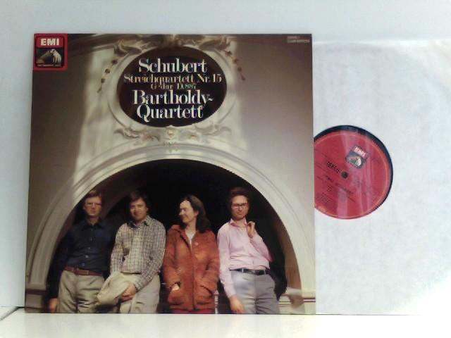 Schubert -  Bartholdy Quartett – Streichquartett Nr.15 G-Dur D.887