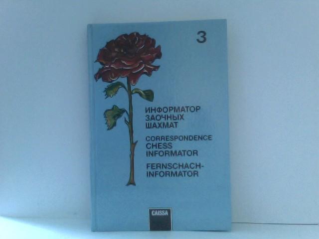 Fernschach-Informator - Correspondence Chess Informator - Band 3
