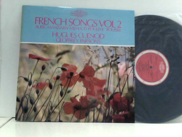 Parsons, Geoffrey: Auric -  Manziarly -  Milhaud -  Poulenc -  Roussel -  Hugues Cuenod,  Geoffrey Parsons – French Songs Vol 2