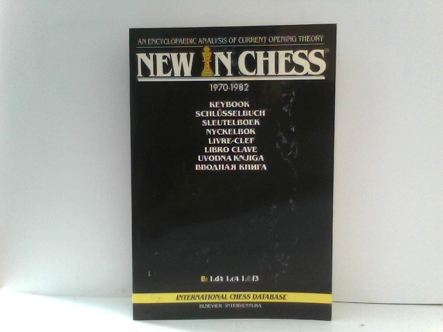 New In Chess Keybook An Encyclopaedic Analysis of Current Opening Theory 1970 - 1982 B: 1.d4 1.d4 1.c4 1.f3 Paperback Edition Band B
