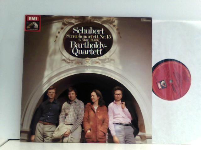 Schubert* -  Bartholdy Quartett  – Streichquartett Nr.15 G-Dur D.887