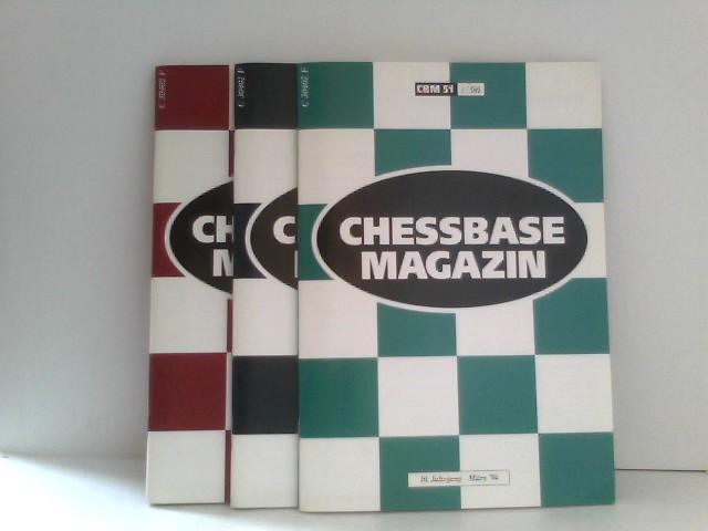 ChessBase Magazin 1996 Hefte 1 bis 3/96