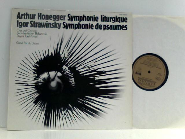 Honegger, Arthur und Igor Strawinsky: Arthur Honegger /  Igor Strawinsky – Symphonie Liturgique - Symphonie De Psaumes