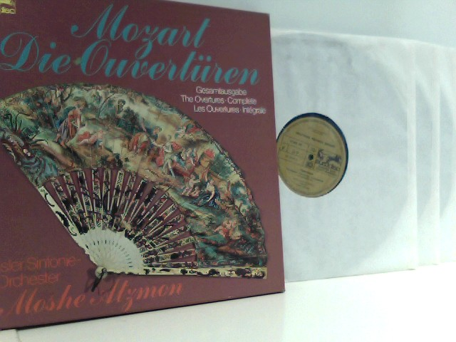 Wolfgang Amadeus Mozart /  Basler Sinfonie-Orchester,  Moshe Atzmon  – Die Ouvertüren -Gesamtausgabe / The Overtures - Complete / Les Ouvertures - Integrale