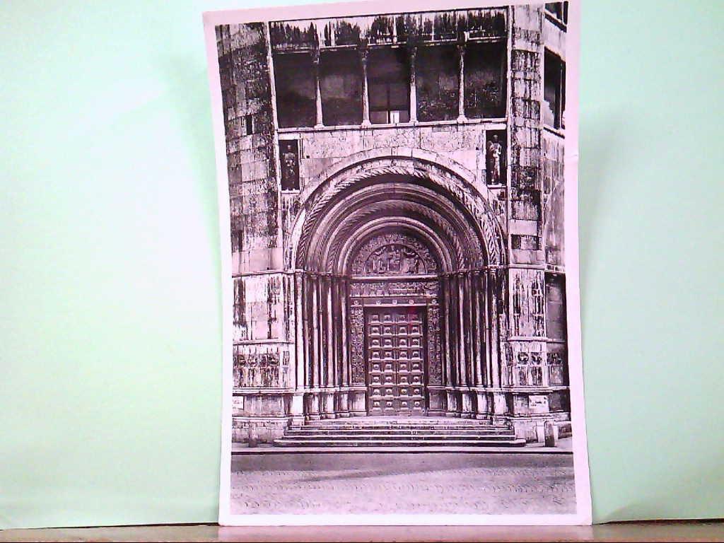 AK Parma / Italien, Battistero ( Il portale della Vergine ), Gebäudeansicht.
