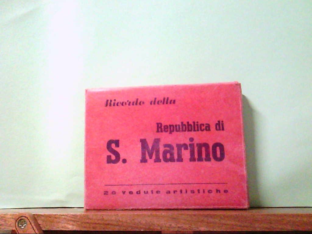 AK S. Marino / Italien, Leporello mit 20 Bildern. Ricordo della Republica di S. Marino.