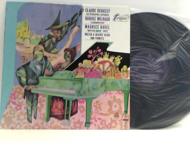 "Claude Debussy,  Darius Milhaud,  Maurice Ravel,  Walter &  Beatriz Klien  – Six Épigraphes Antiques / Scaramouche / ""Mother Goose"" Suite"