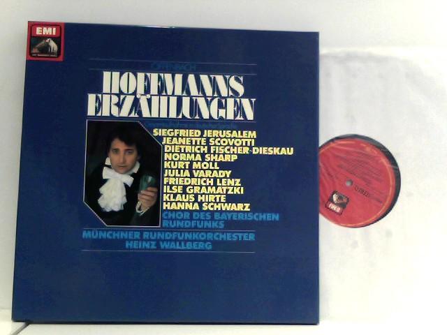 Offenbach, Jacques und Siegfried Jerusalem: OFFENBACH - Hoffmanns Erzählungen - Gesamtaufnahme in deutscher Sprache - EMI Records - 1979