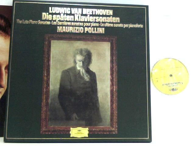 Ludwig van Beethoven •  Maurizio Pollini  – Die späten Klaviersonaten