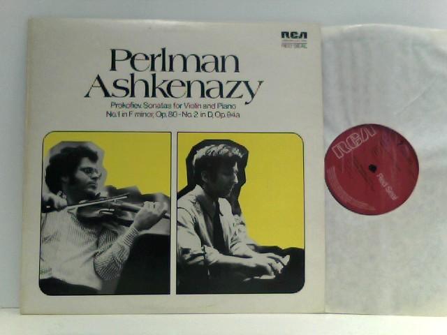 Perlman, Itzhak und Vladimir Ashkenazy: Perlman /  Ashkenazy -  Prokofieff – Sonatas For Violin And Piano (No. 1, Op. 80 • No. 2, Op. 94a)