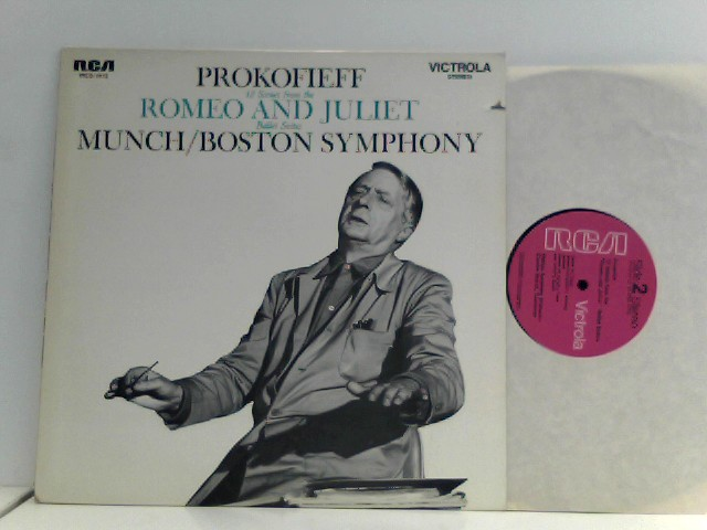 Prokofieff, Serge: Prokofiev -  Munch,  Boston Symphony – 12 Scenes From The Romeo And Juliet Ballet Suites
