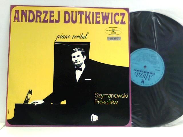 Karol Szymanowski,  Sergei Prokofiev  – 12 Studies Op.33/ IV Sonata C-moll Op.29